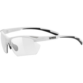 UVEX Sportstyle 802 V Sportglasses Small Women, white/smoke